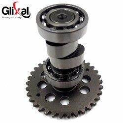 Glixal GY6 125cc 150cc высокоугольная производительность A9 распределительный вал 152QMI 157QMJ легкий вал для скутера мопеда