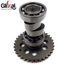 Glixal GY6 125cc 150cc High Angle Performance A9 Camshaft 152QMI 157QMJ Scooter Moped Light Weight Cam Shaft