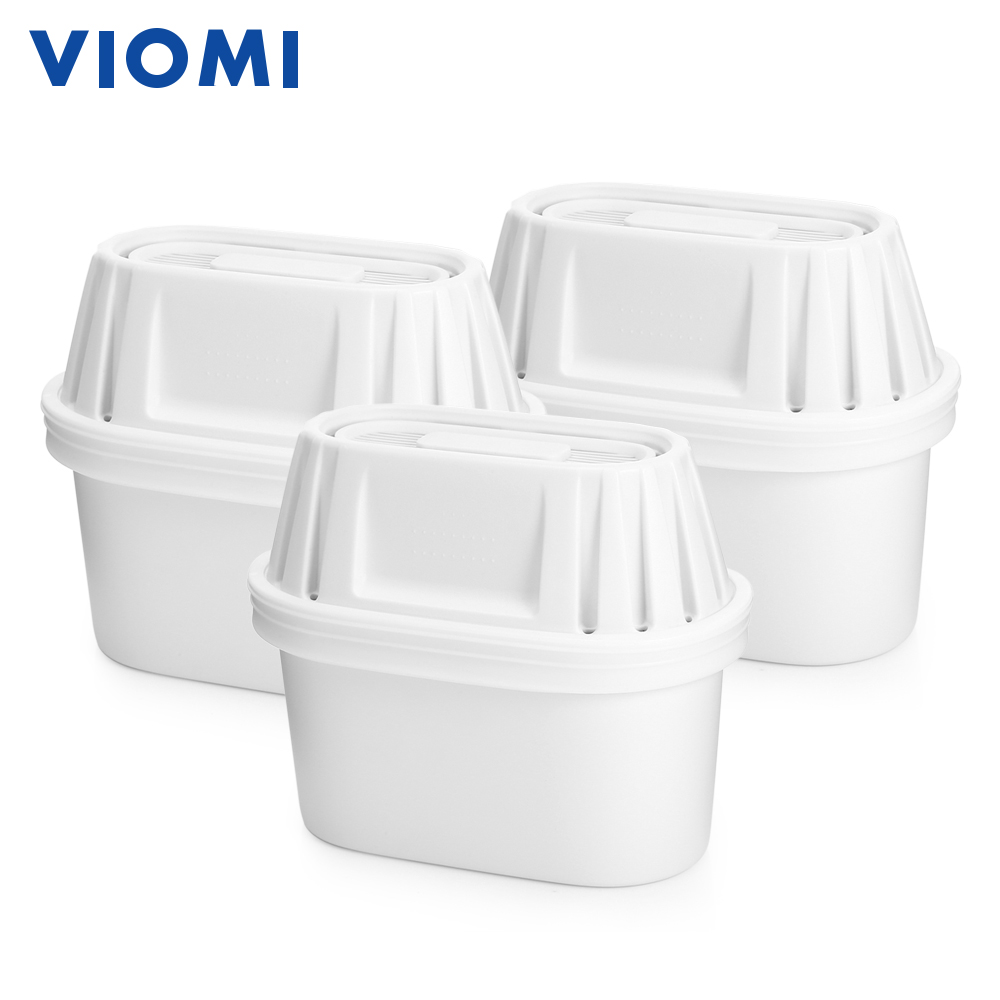 3pcs VIOMI Potent 7-Layer Filters For Kettles Double Bacteria Prevention 360 Degree Inlet Flow Path Design vacuum pump inlet filters f007 7 rc3 out diameter of 340mm high is 360mm