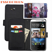 FSSOBOTLUN 9 Kleuren Voor HTC Desire 616 Case PU Lederen Retro Flip Cover Shell Magnetische Mode Portemonnee Gevallen Kickstand Band