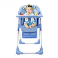 SHENMA 4 в 1 Регулируемый Детский кормовой стул, складной детский стульчик, портативный детский, обеденный стул
