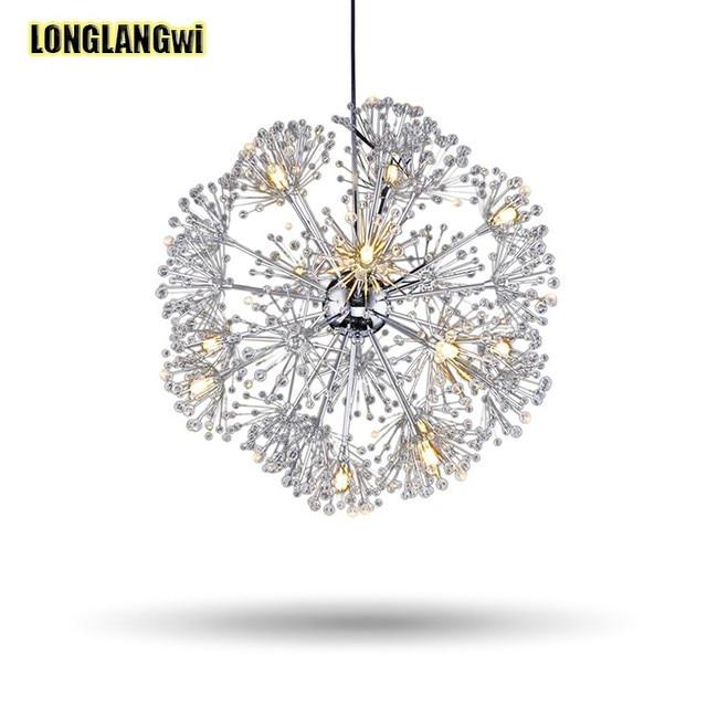 New desgin chandelier crystal lamp modern dandelion chandeliers new desgin chandelier crystal lamp modern dandelion chandeliers lustre luminaire suspendu led crystal light for dining mozeypictures Choice Image