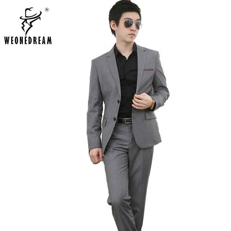 Marque Mode veste Robe 2018 De Smoking Cravate Blazer Formelle D'affaires Mariage Nouveau Mens Gilet Mince Costumes Pantalon A7Aqgv1