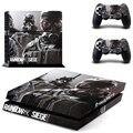 Tom Clancy Rainbow Six Siege PS4 Console Designer pele para PlayStation 4 sistema com controladores Skins para PS4 Dualshock