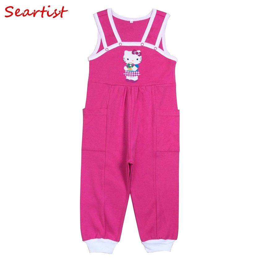 2016 New Baby Girls Boys Cotton Rompers Newborn Jumpsuits  Infant Autumn Winter Overalls Clothes 25C