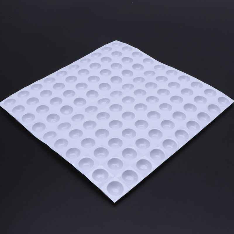 100 個使い捨て混色ペイントドローネイルアート樹脂ジュエリーパレット皿