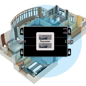 Image 4 - 携帯電話の信号リピータデュアルバンド gsm 900 1800mhz ブースター 2 グラム 3 グラムネットワーク band1 2100 2100mhz の wcdma 携帯電話アンプ