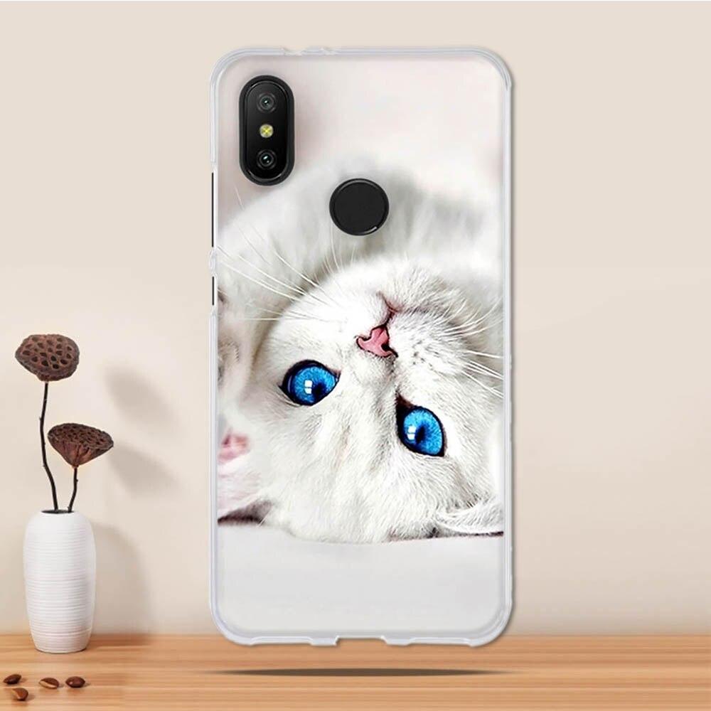 Case For Xiaomi Mi 6X Case Cover Silicone Case For Xiaomi Mi A2 Lite Cover 3D Tpu Coque For Xiaomi Redmi 6 Pro Funda Phone Capa