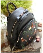 Принцесса сладкий Лолита сумка оригинальный Мори Вышивка Ретро студенческий стиль для отдыха Туризм рюкзак ensso 039