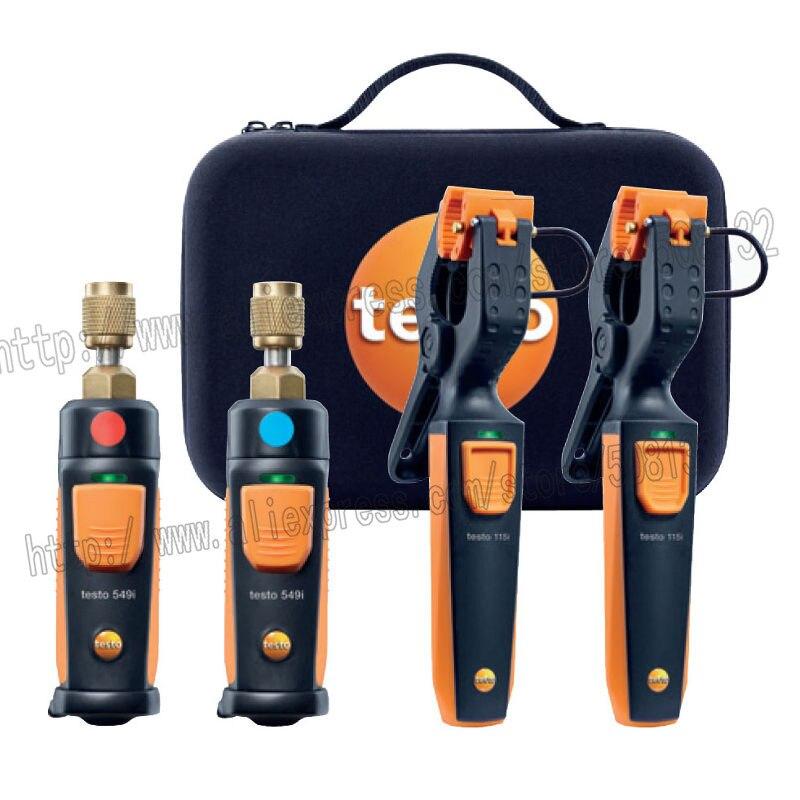 Testo 0563 0002 AC R Wireless Smart Probes Diagnostic Manifold Bluetooth