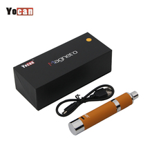 Original Yocan Magneto Wax Vpae Kit Smoking Pen 1100mah Battery Magnetic Coil Cap with Dab Tool Electronic Cigarette