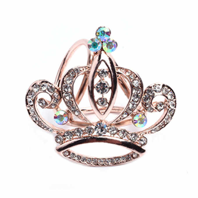 Syal Sutra Bros Perhiasan Aksesoris Gesper Selendang Cincin Klip Trisiklik Syal Gesper Mewah Sederhana Wanita Gadis Partai Hadiah