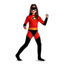 Kids Frozone The Incredibles 2 Elastigirl Costume Fancy Halloween Party Cosplay Mask Clothing Suit For Boys Girls