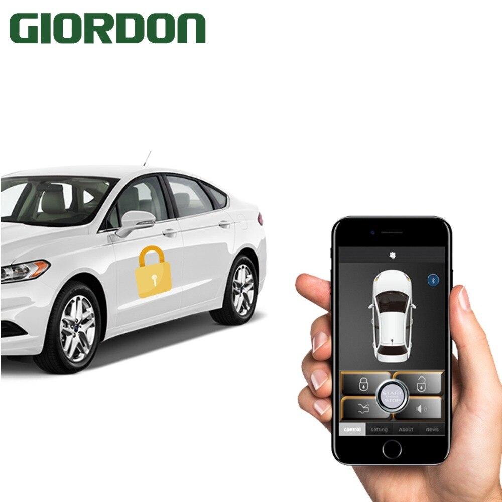 Pke Car Alarm For Kia Car Start Stop Keyless Ignition Car Remote