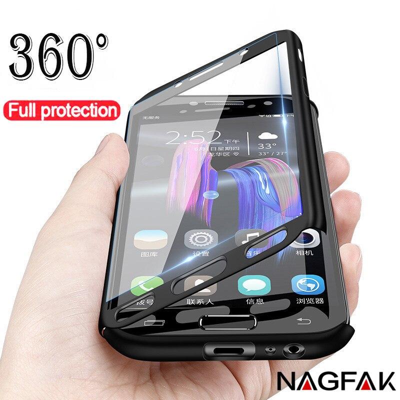 360 Complet Housse de Téléphone étui pour samsung Galaxy J5 J7 A3 A5 2016 A6 A8 2018 étui pour samsung A5 A7 2017 coque ou étui de protection Couverture
