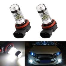 2x H11 H8 3030 SMD светодио дный туман ДРЛ лампы для Honda civic fit соглашение Crider crv
