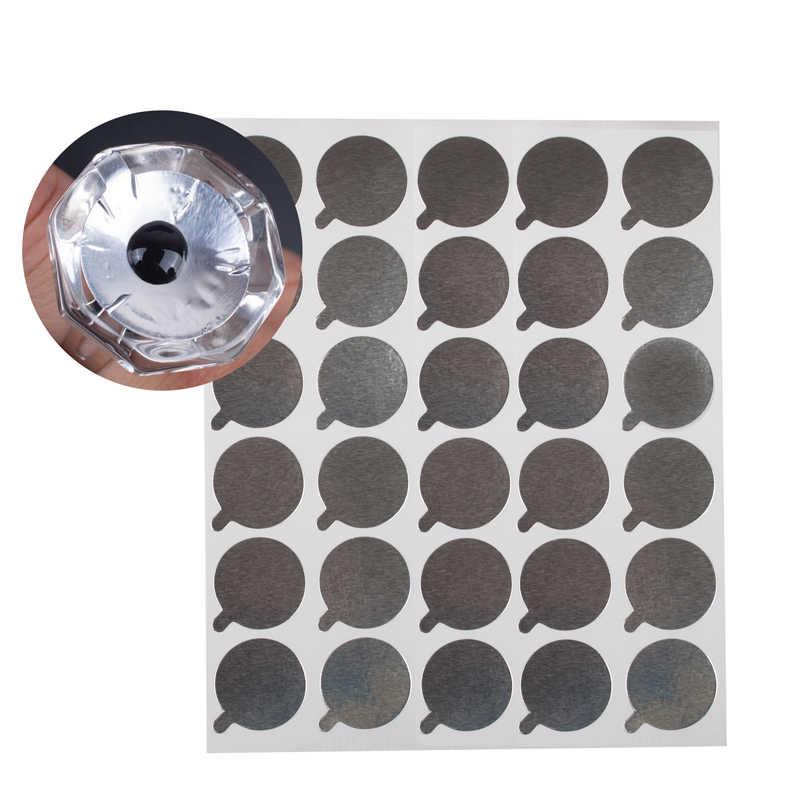 Zwellbe 300PCS חד פעמי ריס הארכת דבק בעל מזרן דבק ריסים הארכת דבק תחת רפידות איפור כלי