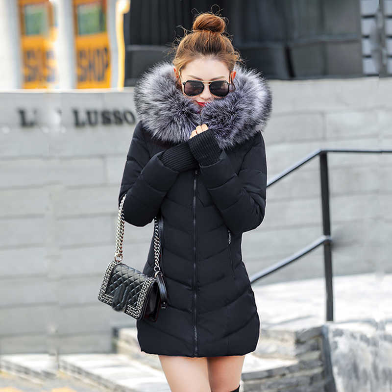 chaqueta mujer Women Down Jacket New 2019 Winter Jacket Women Thick Snow Wear Winter Coat Lady Clothing Female Jackets Parkas