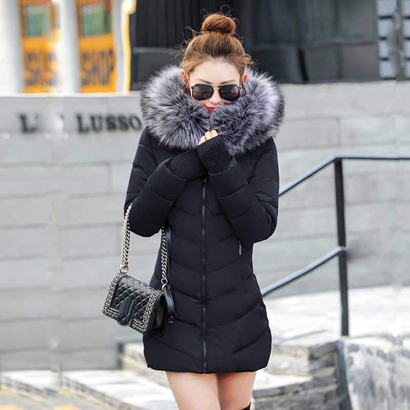 95d081a1a56 Chaqueta de mujer mujeres chaqueta 2019 nueva chaqueta de invierno de nieve  gruesa ropa de abrigo