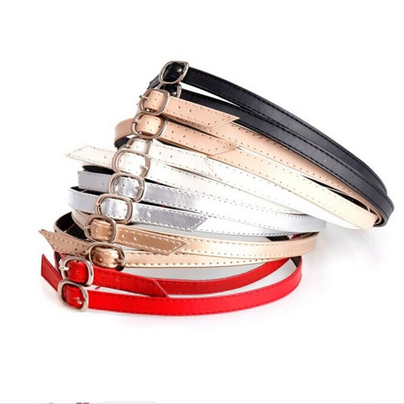 Detachable Shoe Laces For Charm Women Lady Creative Design Convenient PU Leather Shoes Belt Ankle Shoe Tie 1Pair