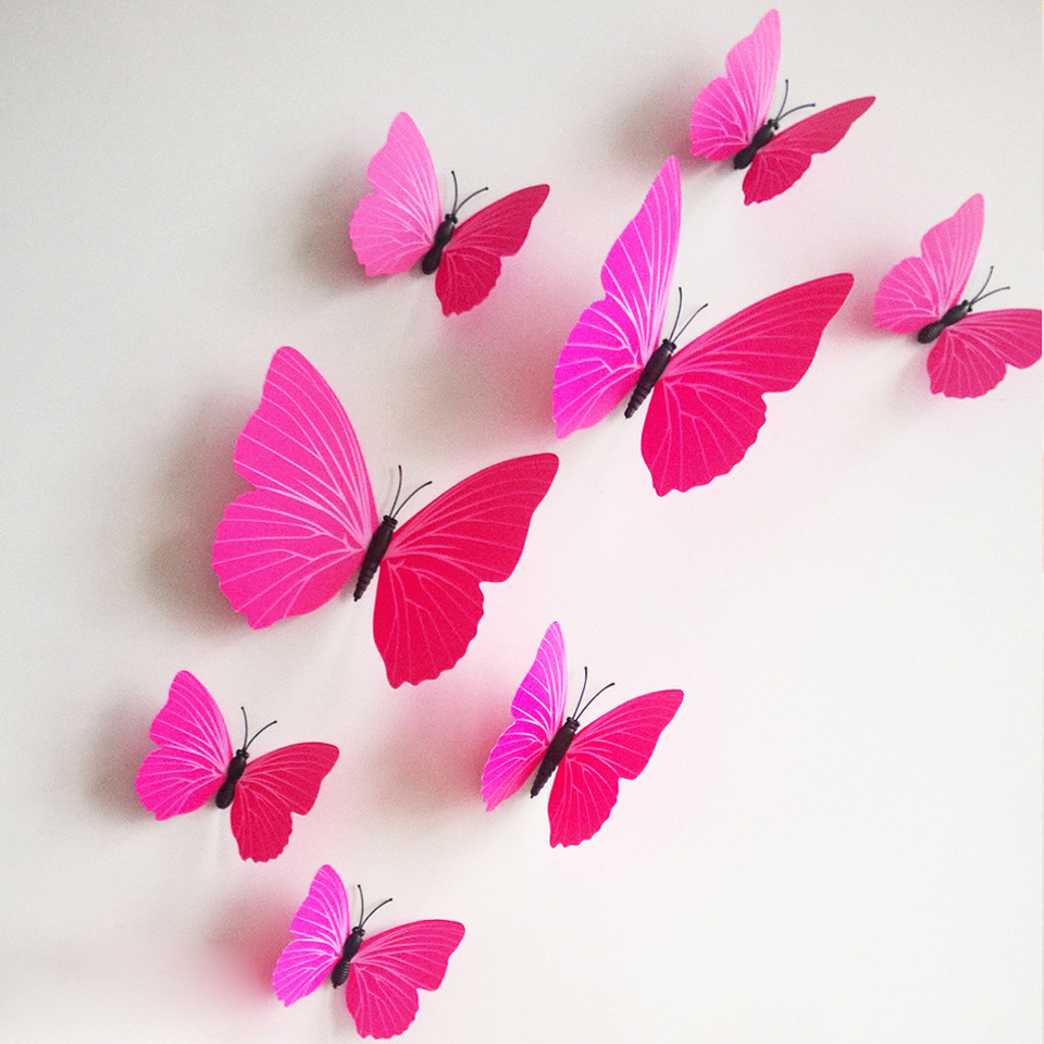 butterfly wall decor winky crafts.htm free shipping 12pcs pvc 3d butterfly wall decor cute butterflies wall  12pcs pvc 3d butterfly wall decor cute