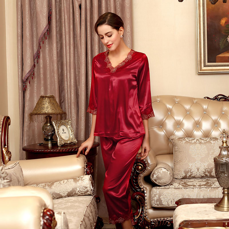 Silk Pajamas Sale Promotion-Shop for Promotional Silk Pajamas Sale ...