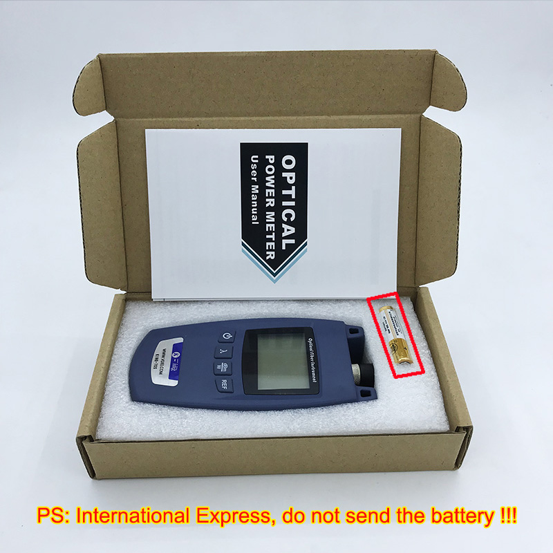 Image 4 - FTTH Mini Optical Power Meter King 70S Type A OPM Fiber Optical  Cable Tester  70dBm~ 10dBm SC/FC Universal interface Connector-in Fiber  Optic Equipments from Cellphones