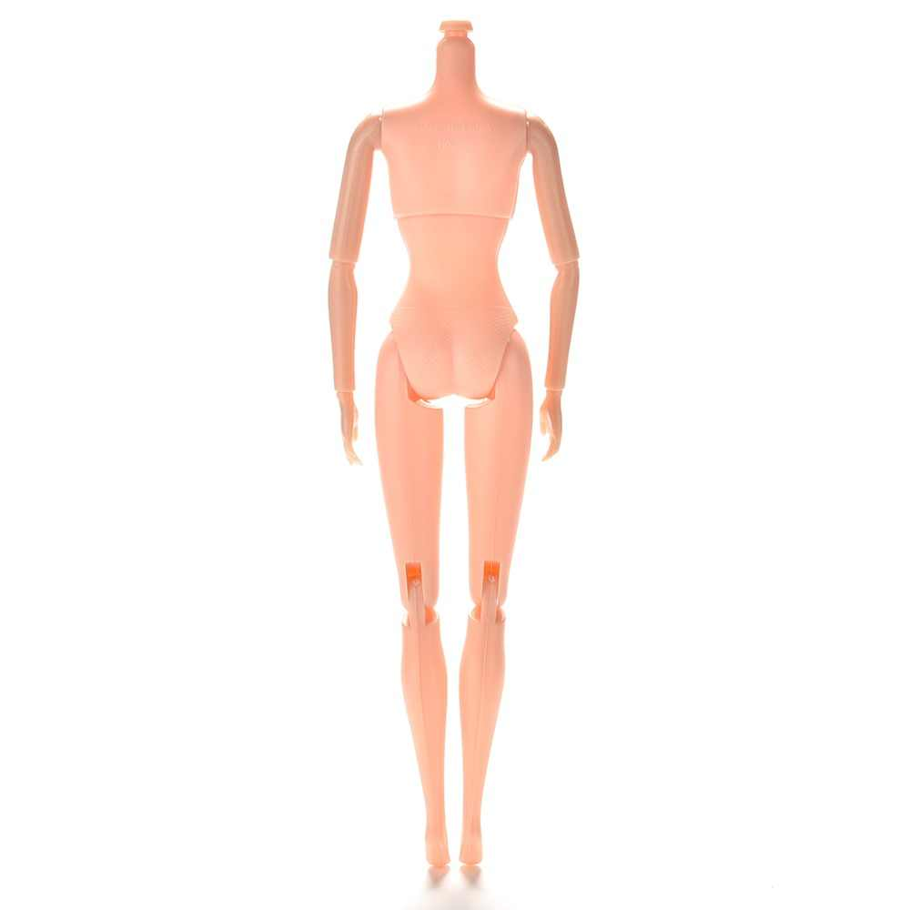 "25cm/10.23"" 12 Jointed DIY Body Without Head 1pc DIY Movable Nude Naked Doll Body For girl Doll House Children Gifts"
