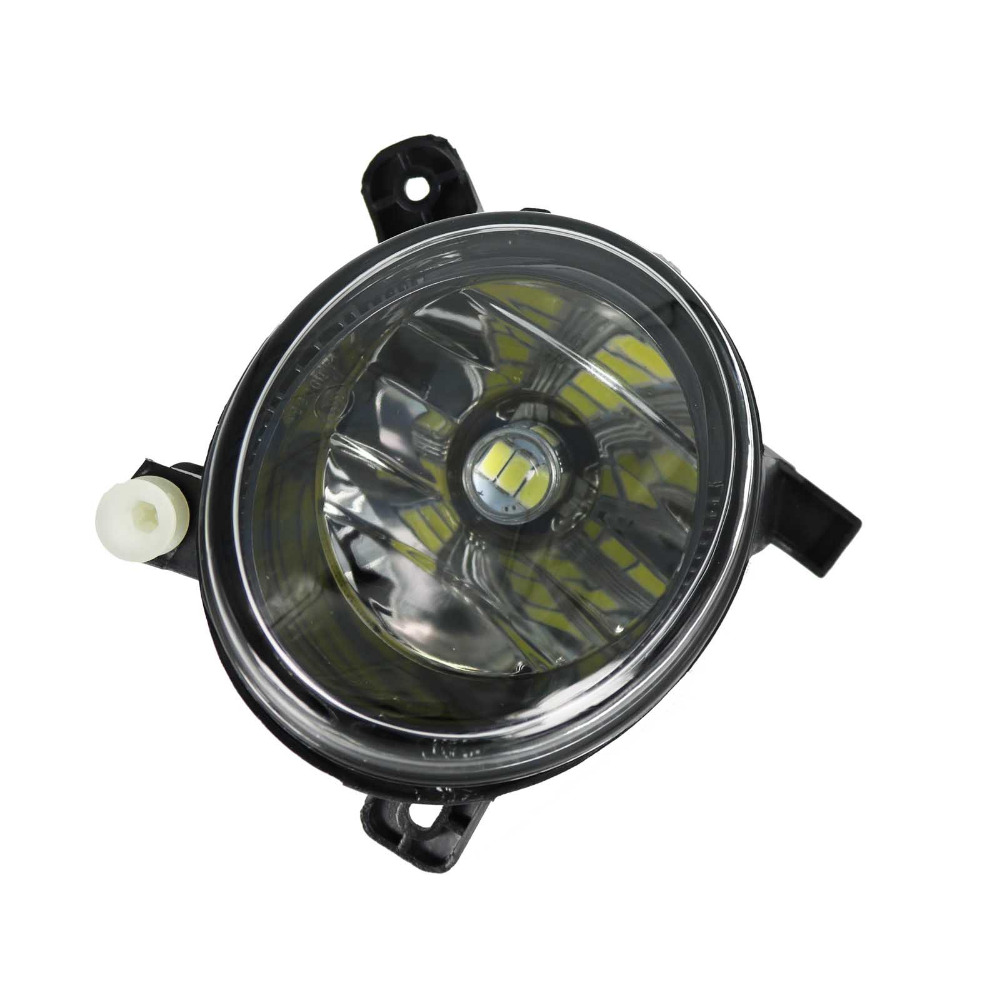 For Audi A4 B8 S4 A4 Allroad 2008 2009 2010 2011 2012 2013 2014 2015 Car-styling Right Side LED Fog Light Fog Lamp fog light grill for audi a4 s line s4 2013 2014 2015 front bumper grille foglamp cover left