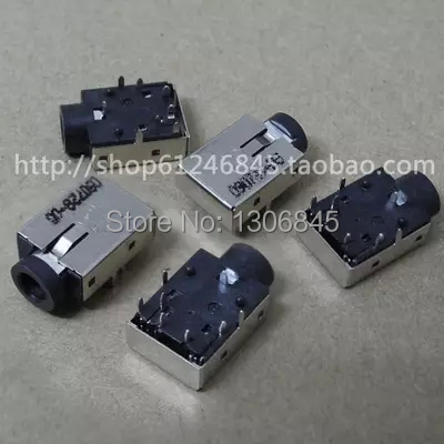 NEW Free Shipping DC Jack 8 Pin for Asus Dell HP Lenovo Headphone Jack Audio Connector Plug Interface