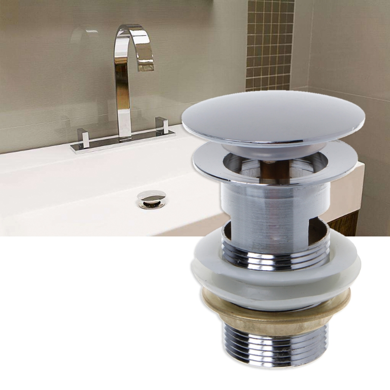 How To Remove Drain Stopper From Bathroom Sink: Bathroom Sink Drain Stopper Sink Tap Push Button Pop Up