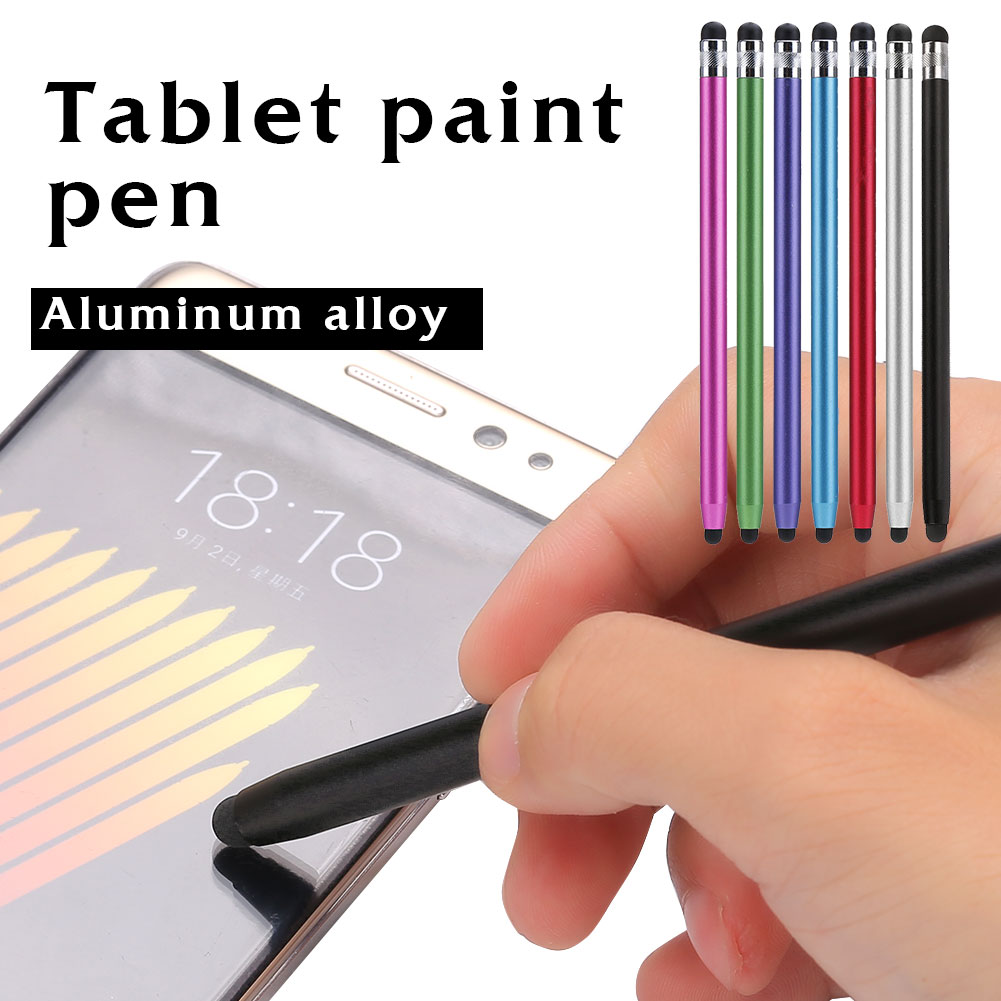 Aluminium Alloy Point Stylus Capacitive Pen Touch Screen Pencil MP3 Universal For IPhone PC Portable