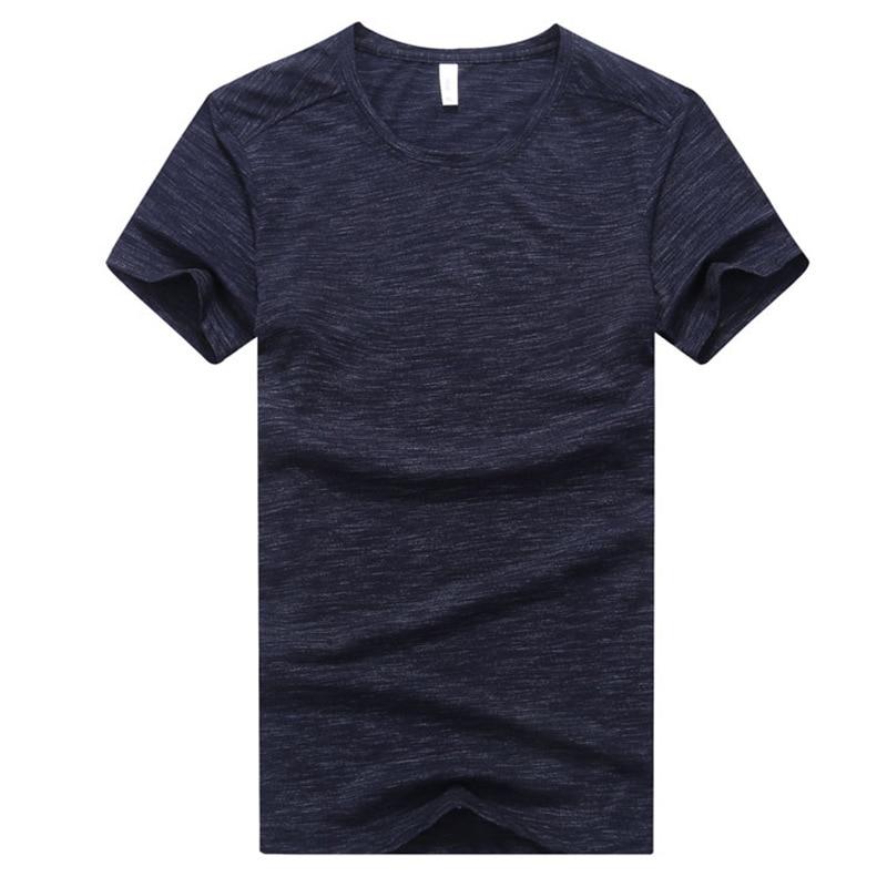 9XL Summer Men Sweatshirts Short Sleeve Quickly Dry T-shirt Male Running Jogger Casual Fitness Gym Workout Shirt Sportswear