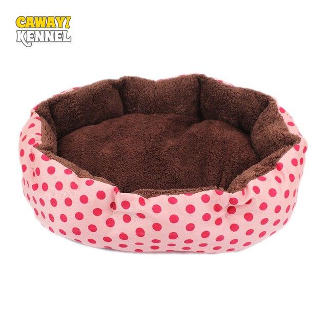 Cawayi Zwinger Octagon Form Weiche Fleece Haustier Hund Katze Bett
