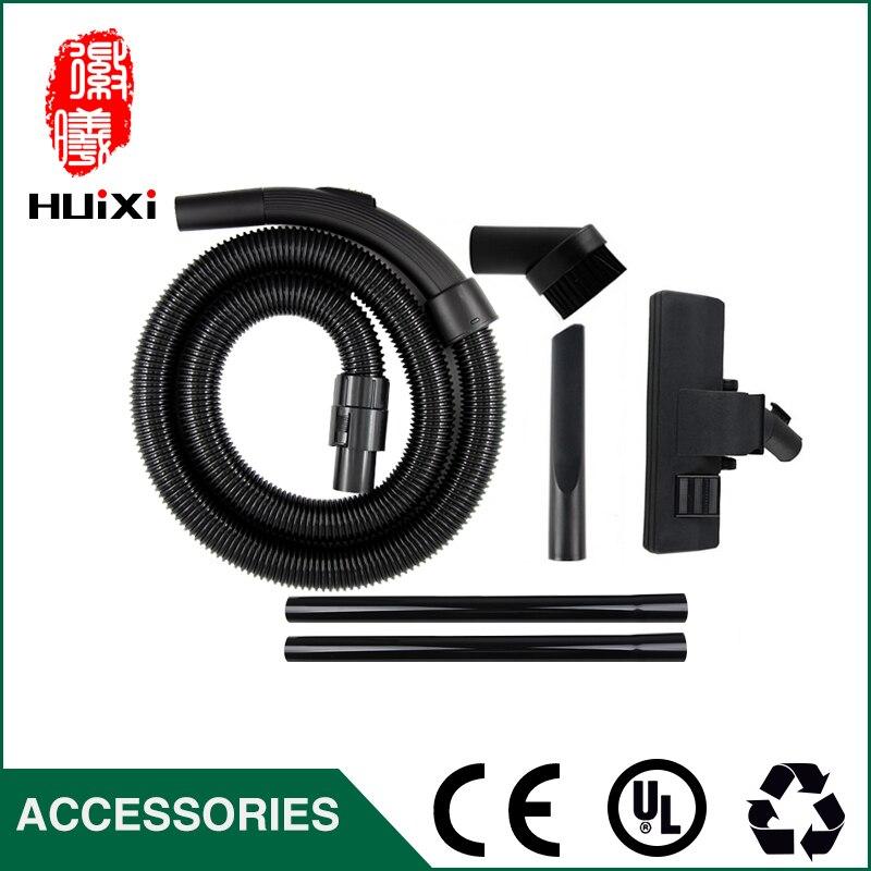 Diameter 32mm Black Flexible suction Hose+black Straight hose pipe +suction nozzle Vacuum Cleaner parts QW12T-605 VC34J-09C etc