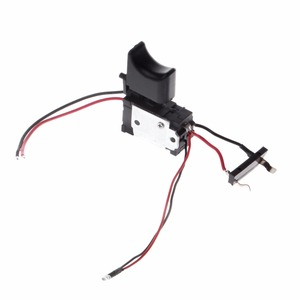 Image 1 - 電気ドリル防塵速度制御プッシュボタントリガーパワーツール DC 7.2 24 220v スイッチ