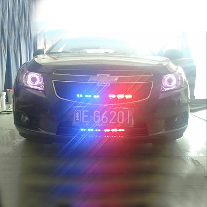 Transporti FUGSAME FALAS Super Bright 4 * 6 LED Car Strobe Light High - Dritat e makinave - Foto 4
