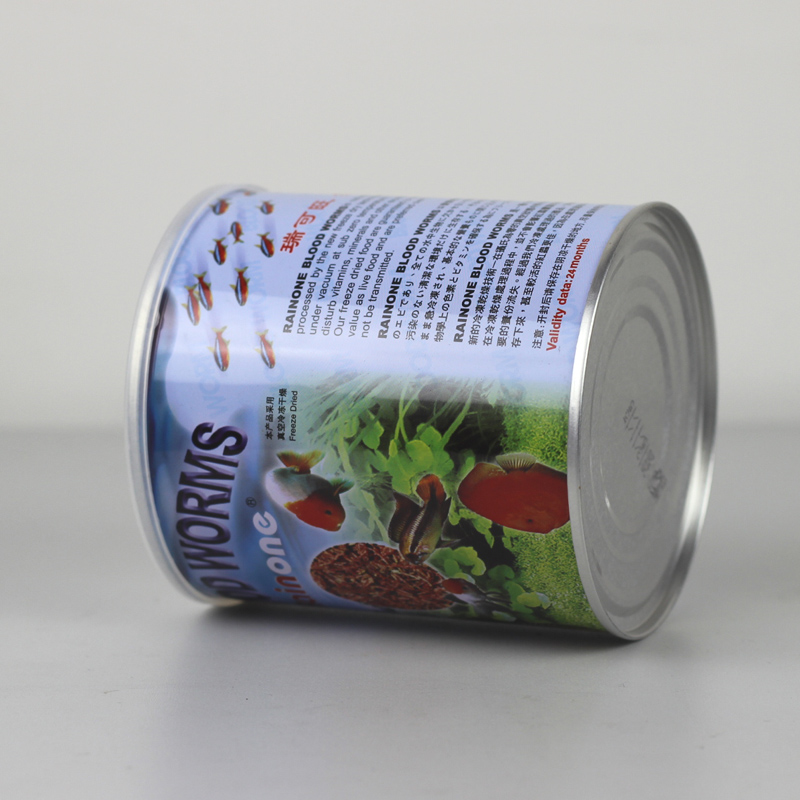 45g Freeze Dried Red Insect Blood Worm Tropical Fish Food