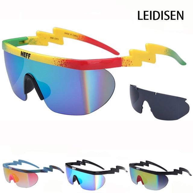ef3e041110 De moda Neff gafas de sol para hombres, diseñador de marca, las mujeres  uv400