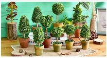 Free shipping,zakka Pastoral American home decorations simulation plants potted flowers Desktop ornaments small bonsai French