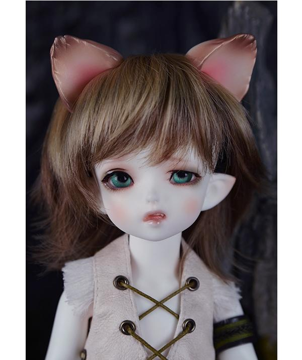 1/6 scale BJD nude doll about 26cm.recast BJD Han&Asronn Coyote Elves.nude BJD not include clothes;shoes;makeup and wig,A15A1800