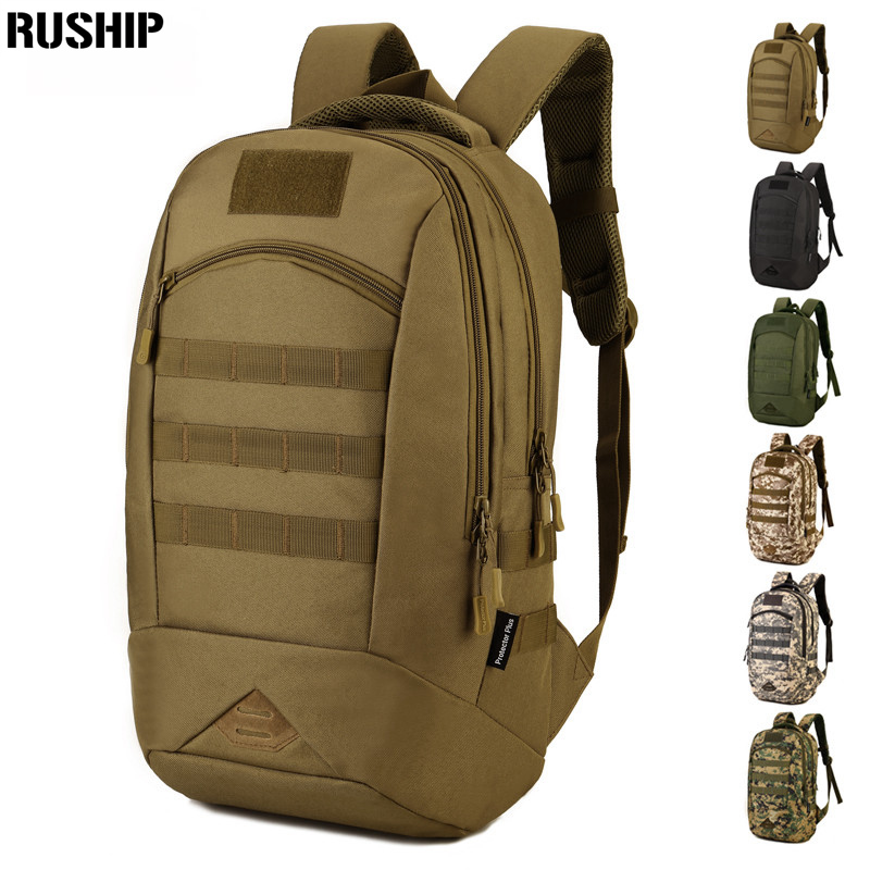 35L Waterproof Tactical Backpack Military Multifunction High Capacity Hike Camouflage Travel Backpack Mochila Molle System