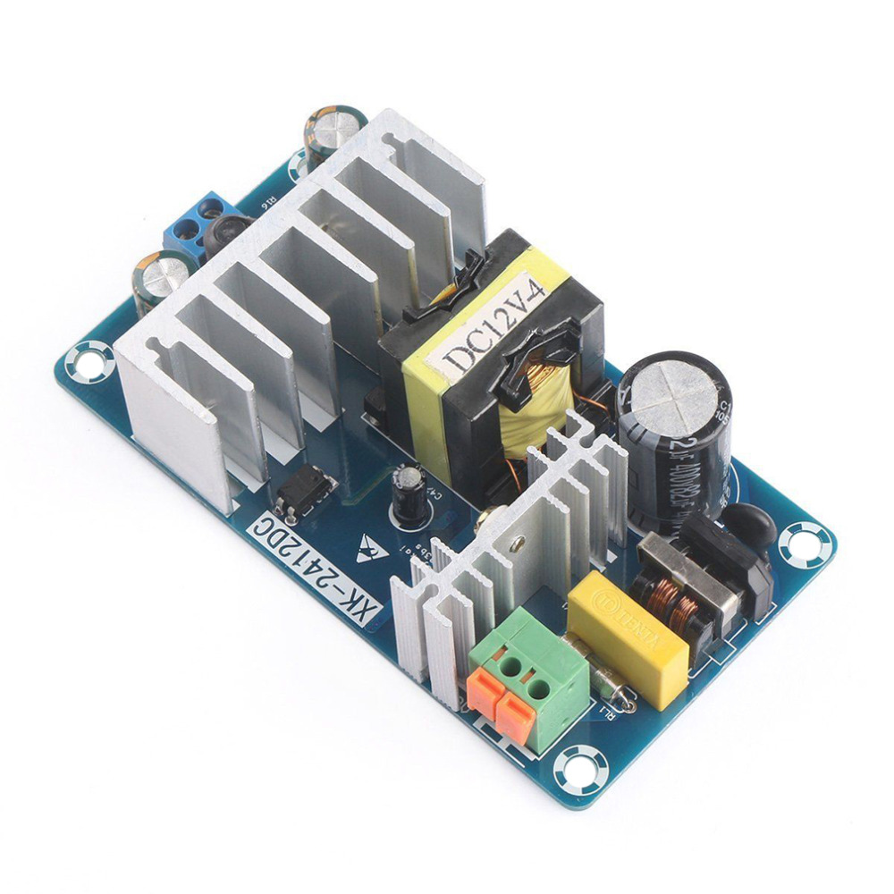 High Quality AC 85-265V to DC 12V 8A AC/DC 50/60Hz Switching Power Supply Module Board Promotion nes series 12v 35w ul certificated switching power supply 85 264v ac to 12v dc