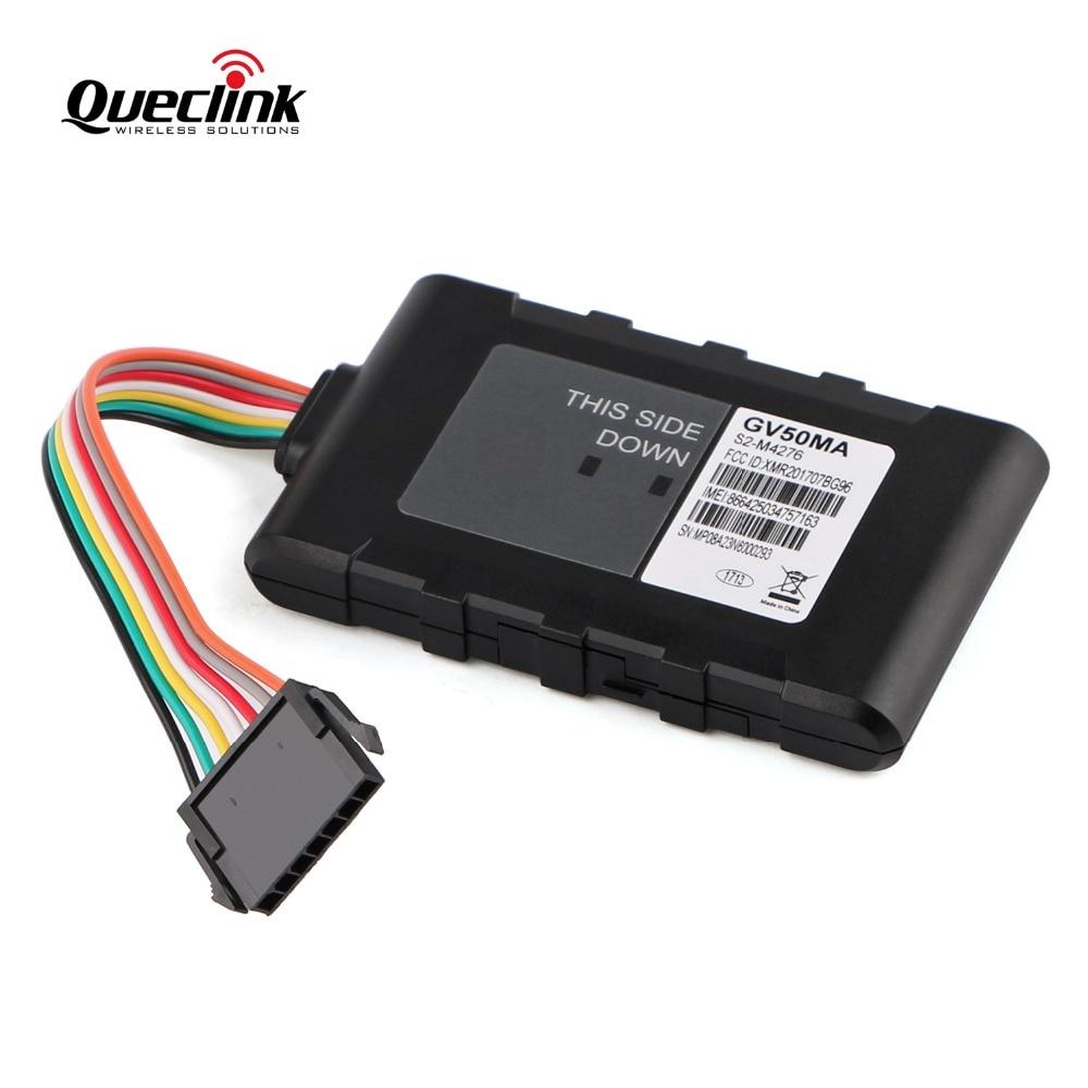Queclink GV50MA GPS Tracker Car Auto Mini Locator Localizador Vehiculo Compact Integrated Vehicle Trackers 4G tracker