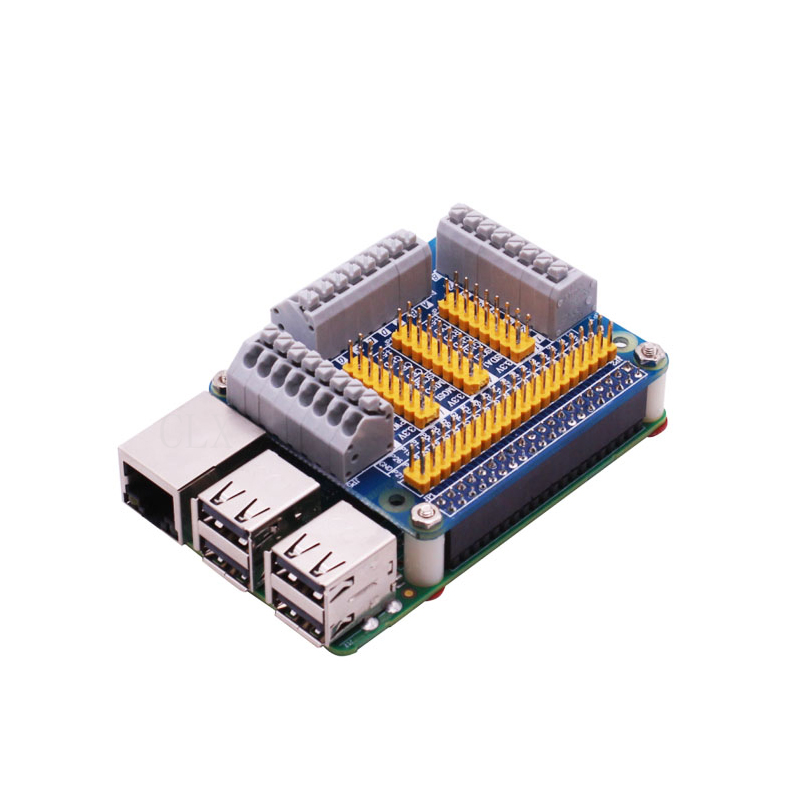 Raspberry Pi GPIO Board Extension Board Module For Robot Car DIY Test Compatibe For Raspberry Pi 4 Model B / 3B+ / 3B