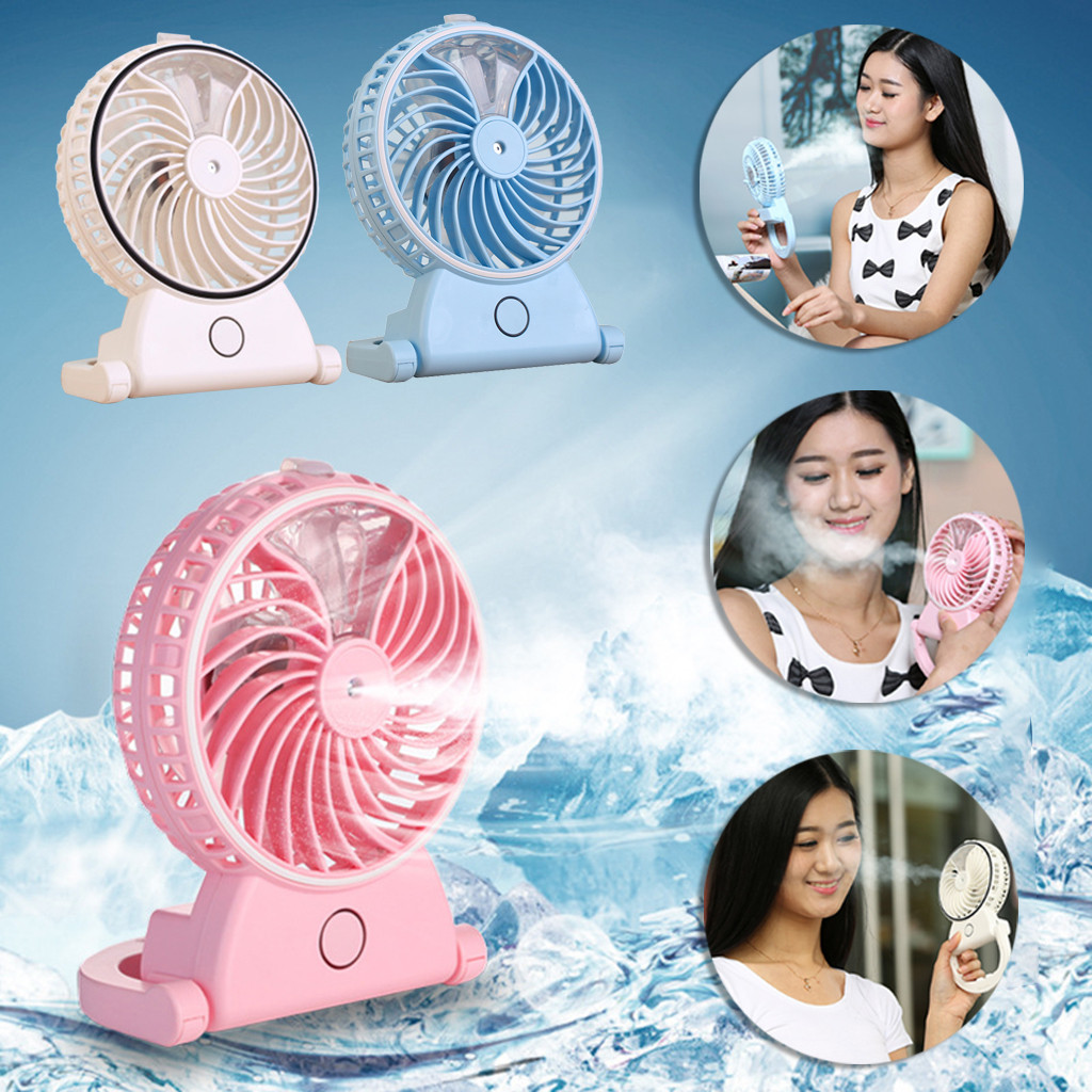 kitchen accessories 2019  Portable Humidifier Handheld USB Mini Misting Cooling Spray Fan(China)