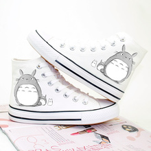Anime Totoro Printed Unisex Shoes