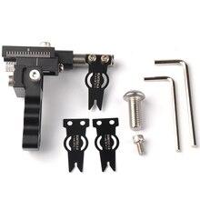 Arco compuesto Flecha Resto Partido Ajustable Clips de Metal con 3 Tamaños para Tiro Con Arco de Tiro de Caza