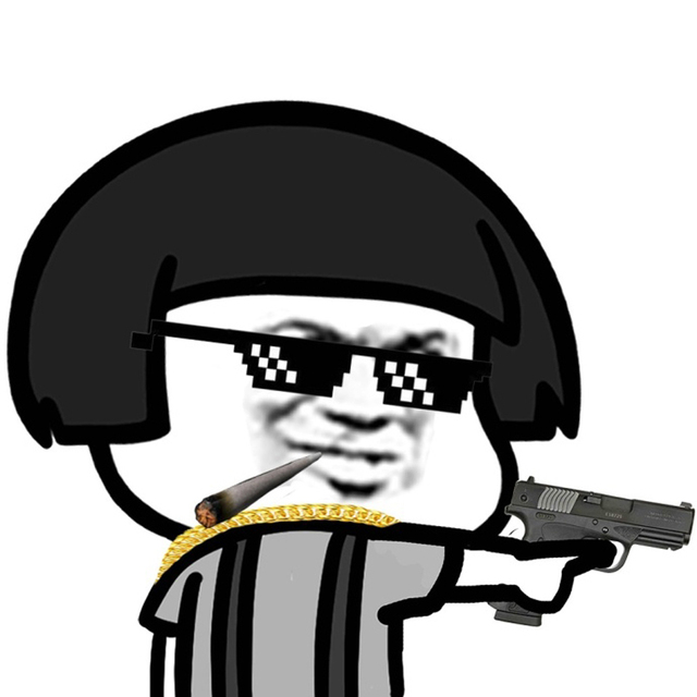 1 Pcs Thug Life Glasses Pixel Sunglasses Swag Party Props Panda Meme
