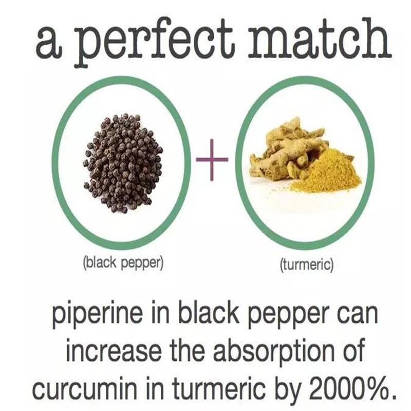 diabetes curcumina pimienta negra